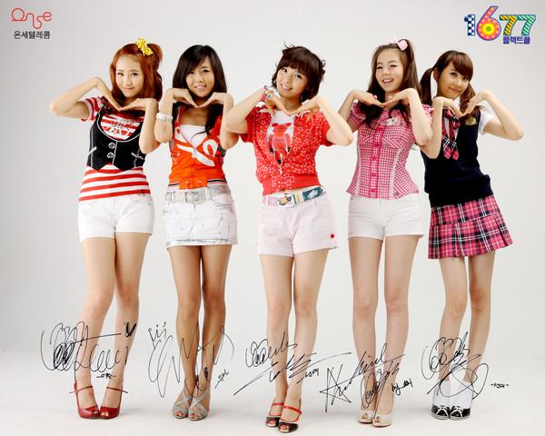 INTEGRANTES .... WONDER GIRLS  :-) Wondergirlsl